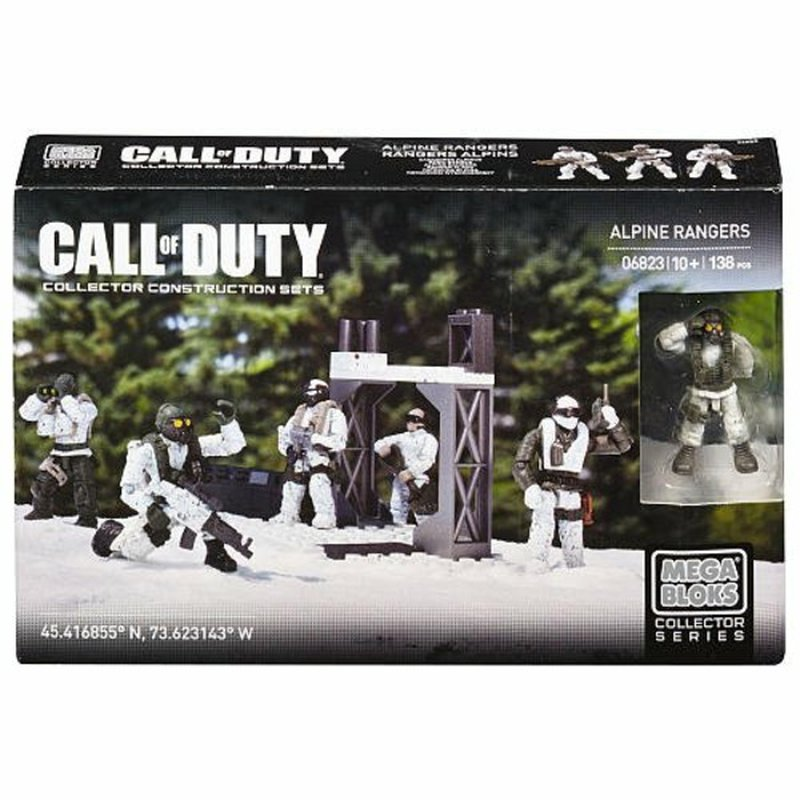 Mega Bloks Call Of Duty Care Package Troops Assortment
