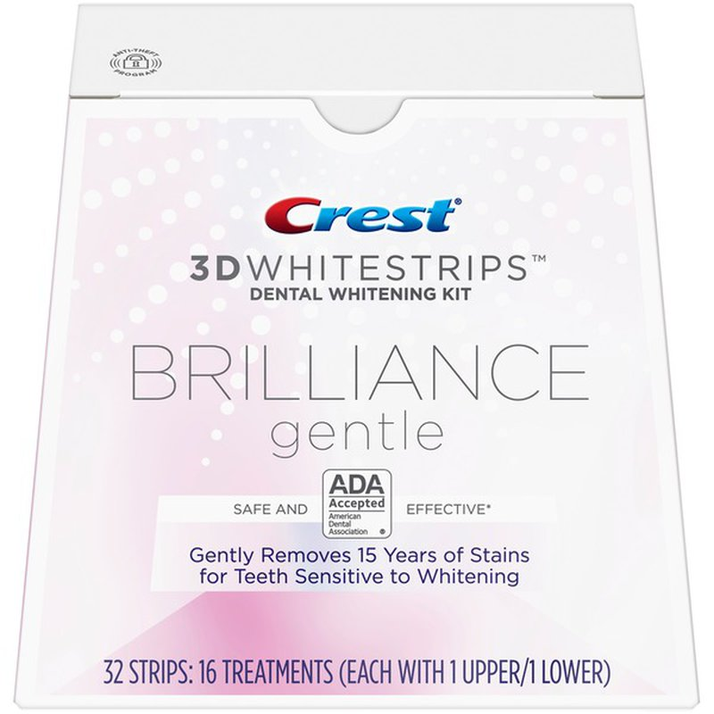 Crest 3d Brilliance Teeth Whitening Kit From Target Instacart