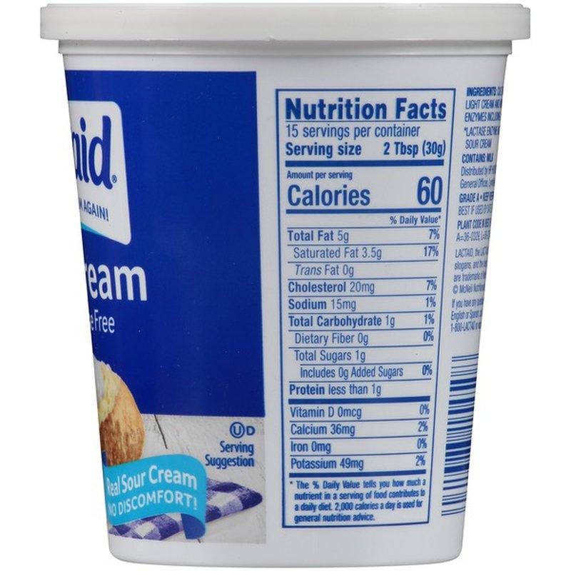 Lactaid Sour Cream