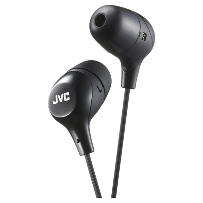 JVC Black Marshmallow In-Ear Wired Headphones