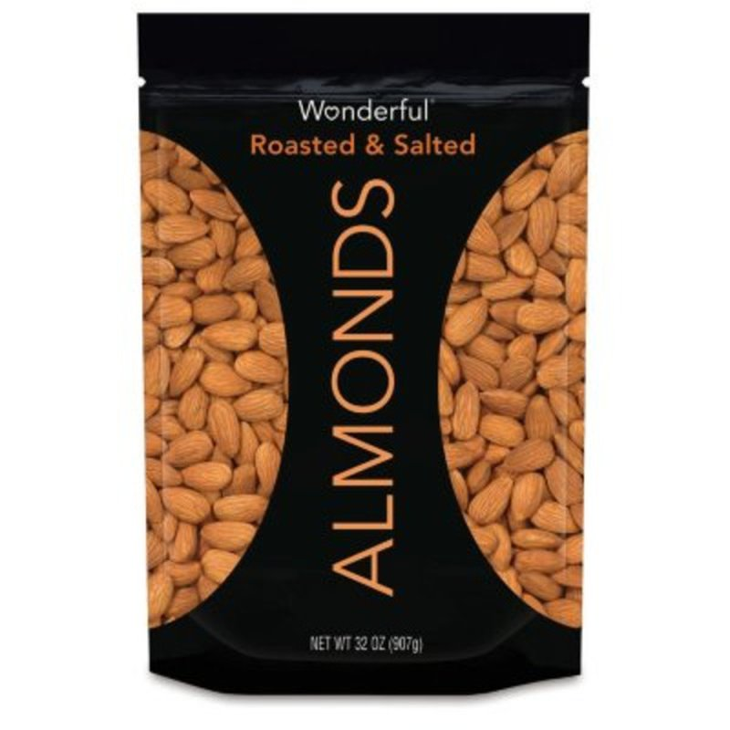Wonderful Pistachios & Almonds Roasted & Salted Almonds