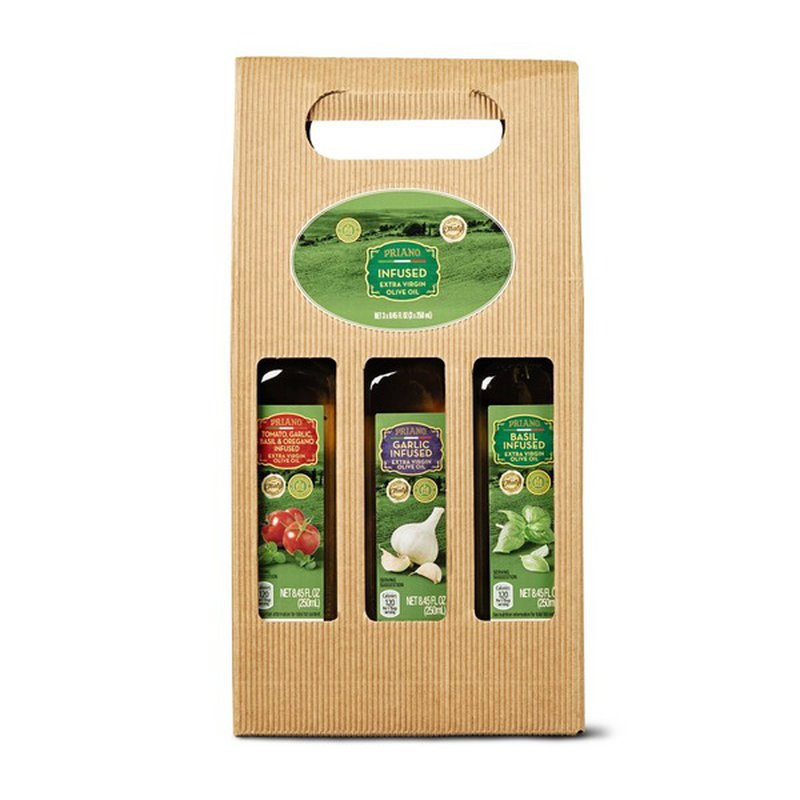 Priano Infused Extra Virgin Olive Oil Gift Set