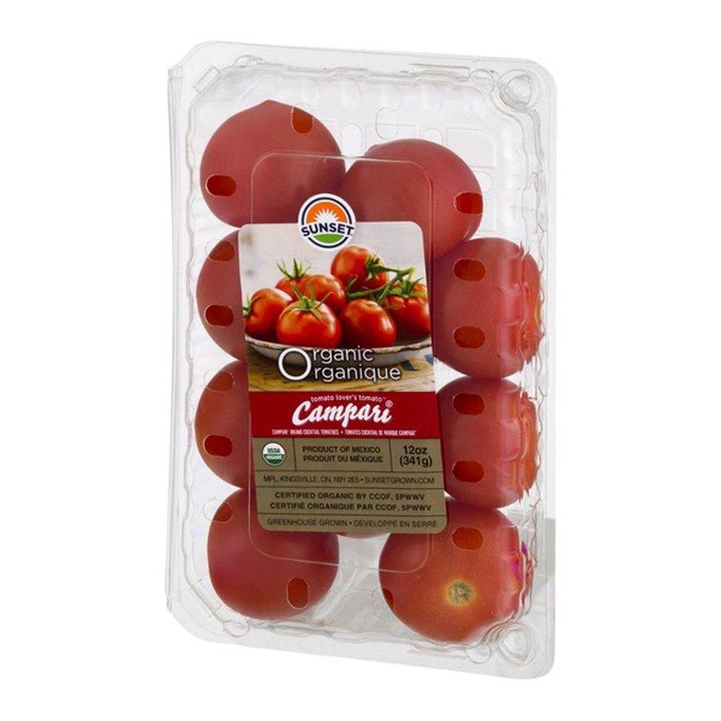 Sunset Tomatoes, Organic, Campari