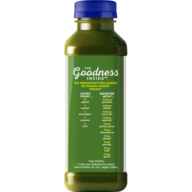 Amazon.com : NAKED JUICE SMOOTHIE GREEN MACHINE 15.2 OZ PACK OF 3 : Grocery & Gourmet Food