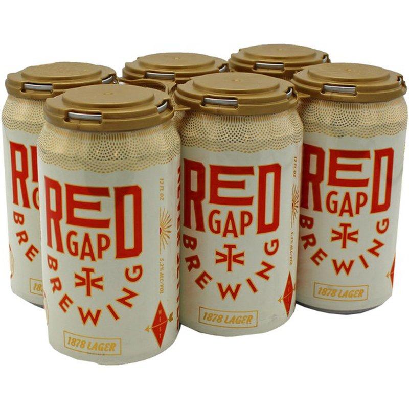 Red Gap 1878 American Lager