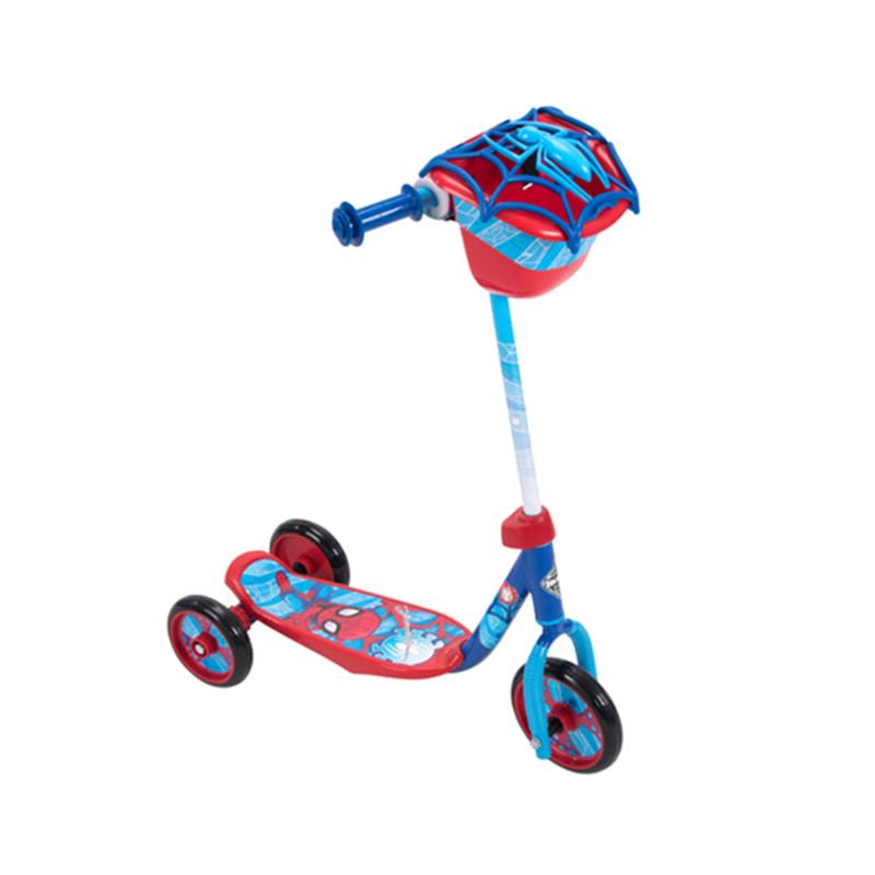 Huffy Marvel Spider Man 3 Wheel Preschool Scooter