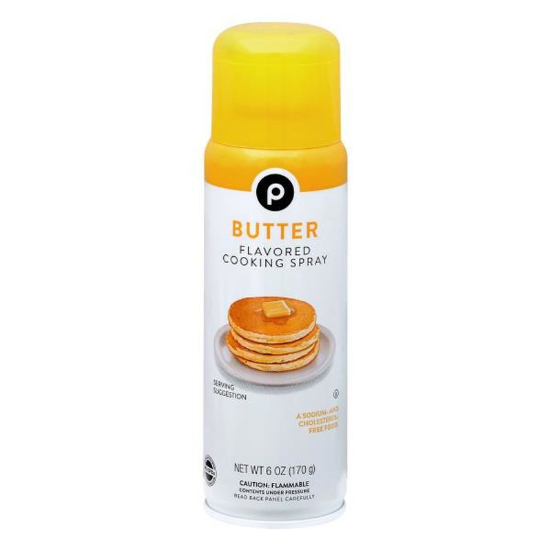 Publix Cooking Spray, Butter Flavored