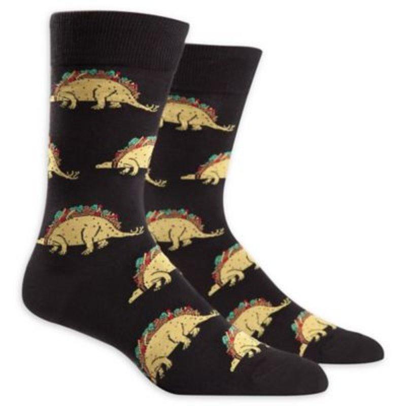 Sock It To Me Tacosaurus Mens Crew Socks