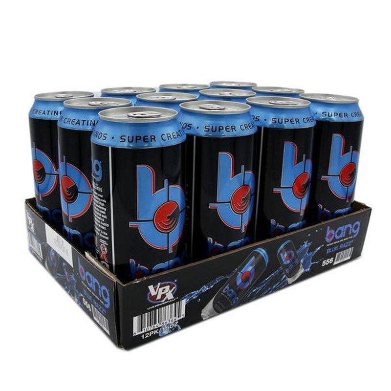 VPX Blue Razz Potent Brain & Body Fuel Energy Drink
