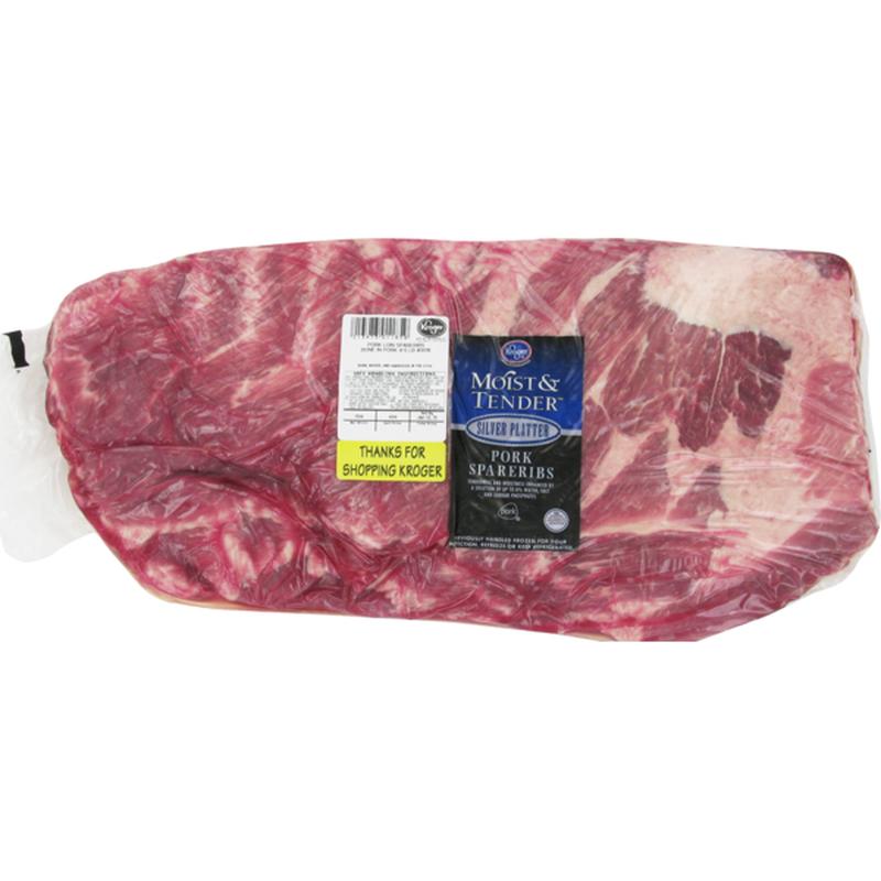 Moist & Tender Fresh Pork Spare Ribs