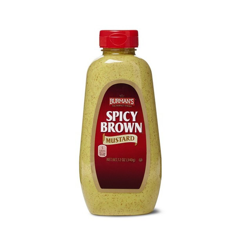 Burman's Spicy Brown Mustard