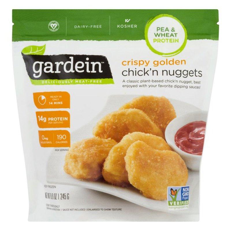 Gardein Chick'n Nuggets, Vegan, Crispy Golden, Pouch