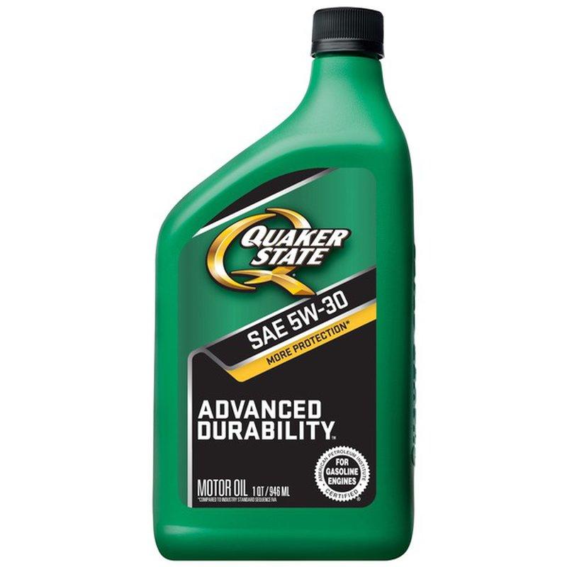Quaker State Motor Oil, SAE 5W-30