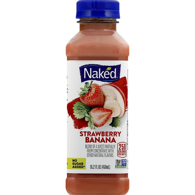 Naked Juice Strawberry Banana 100% Juice Smoothie 64 fl