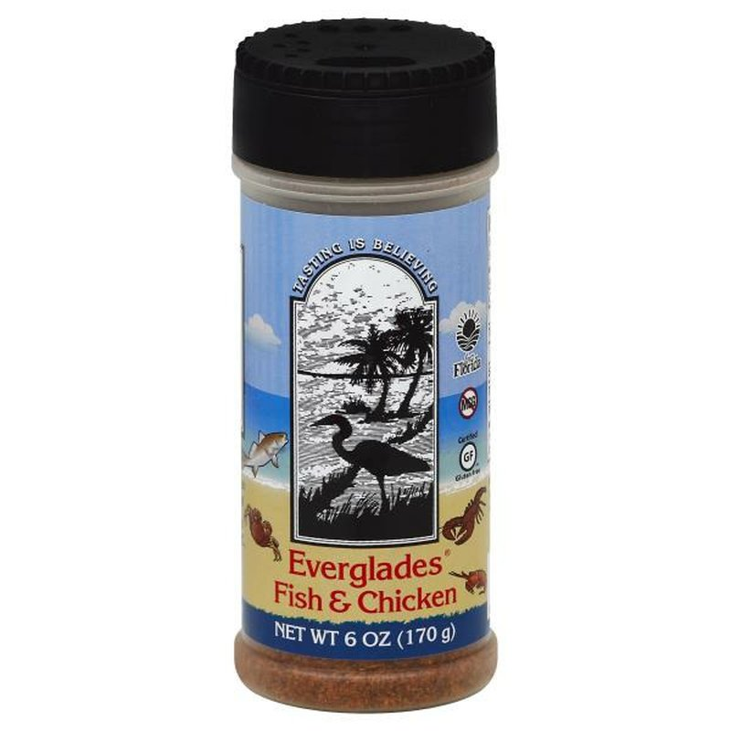 Everglades Seafood & Poultry Seasoning