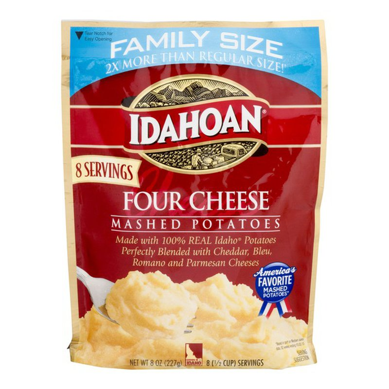 Idahoan Four Cheese Mashed Family Size