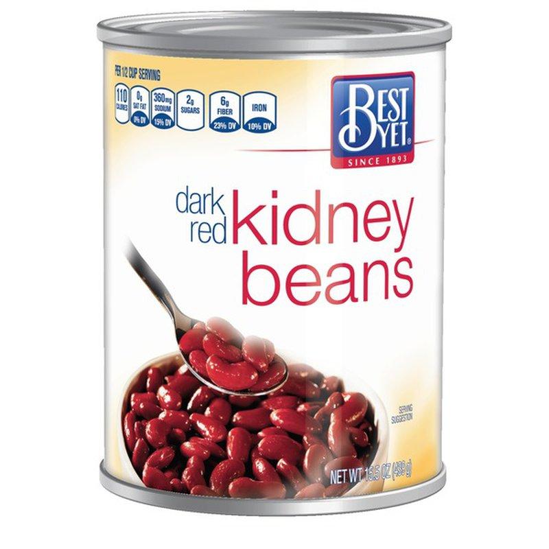 Best Yet Dark Red Kidney Beans 15 Oz Instacart