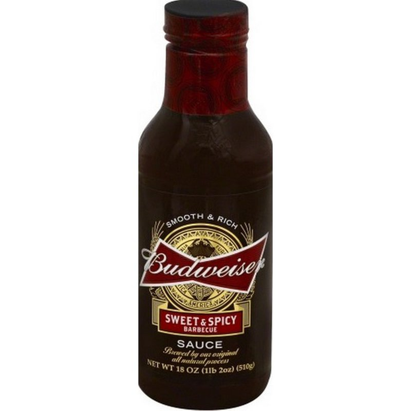 Budweiser King Of Beers Sweet Barbecue Sauce