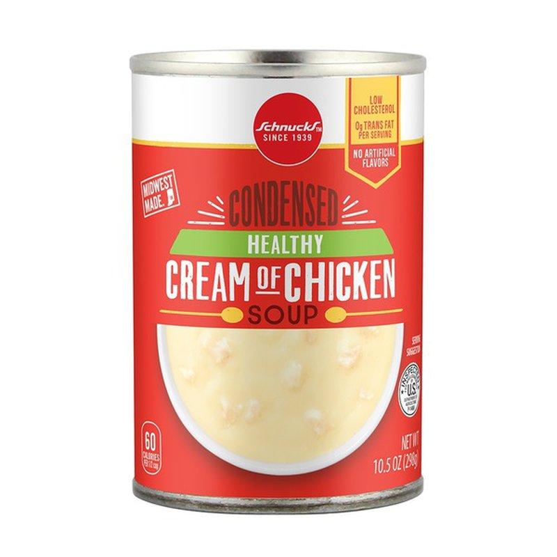 Schnucks Healthy Cream Of Chicken Condensed Soup