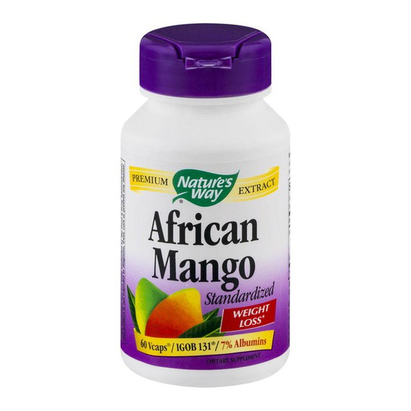 Nature S Way African Mango 60 Ct 60 Ct From Whole Foods Market