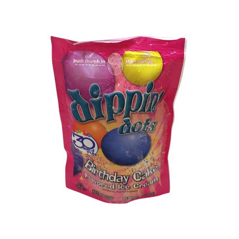 Magnificent Dippin Dots Ice Cream Birthday Cake 3 Oz Instacart Funny Birthday Cards Online Kookostrdamsfinfo
