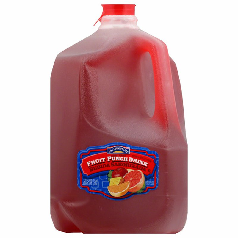 Hill Country Fare Fruit Punch Drink