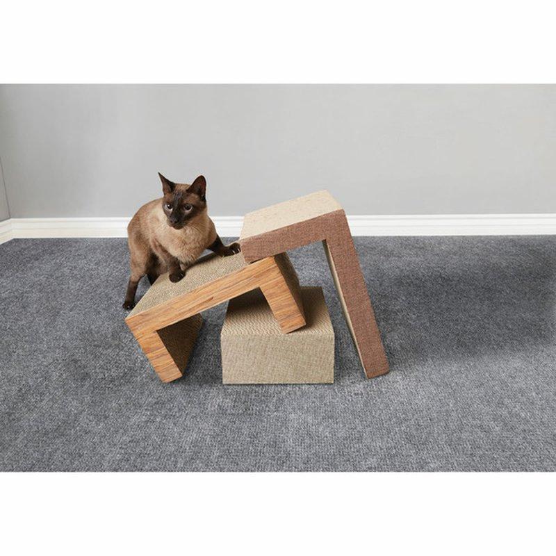 You & Me Cat Scratch Geo Pzzle Tbl