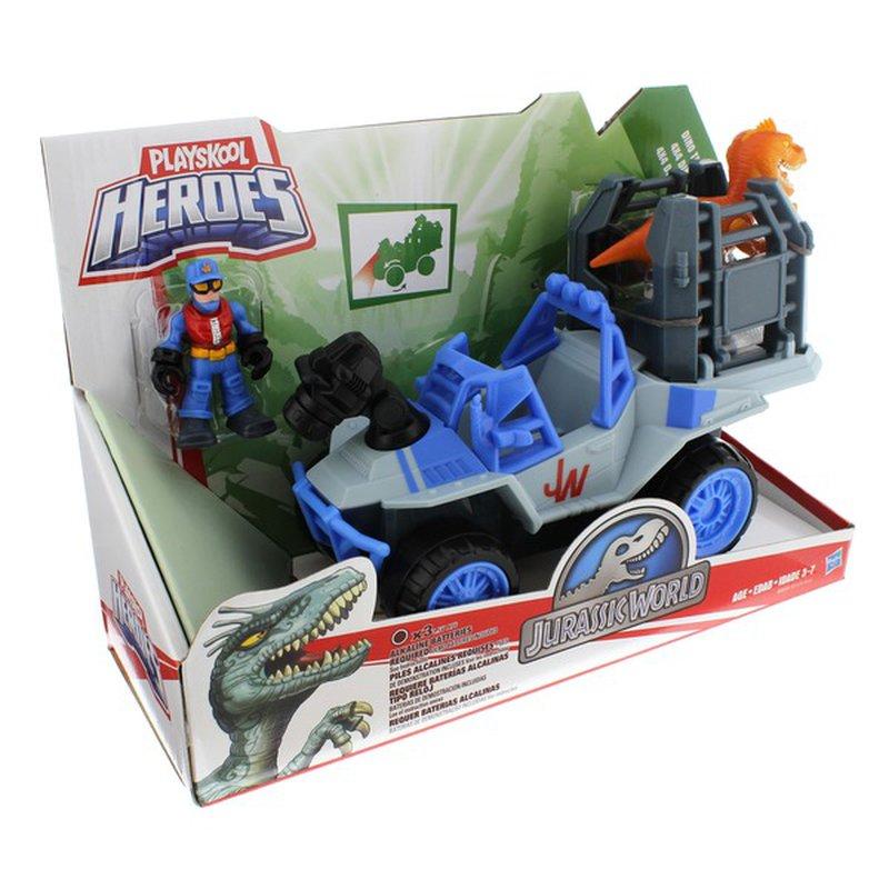Playskool Heroes Jurassic World Assorted Dino Tracker Vehicles