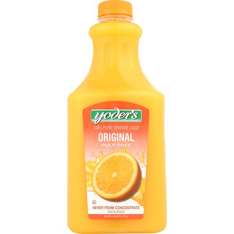 Yoder's Not From Concentrate Orange Juice