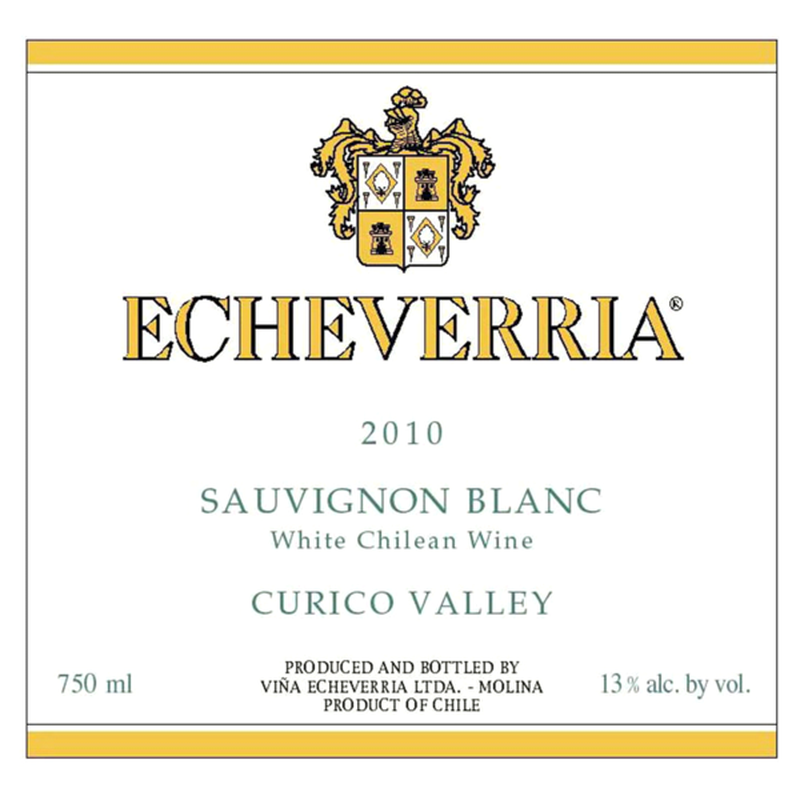 Echeverria 2019 Sauvignon Blanc
