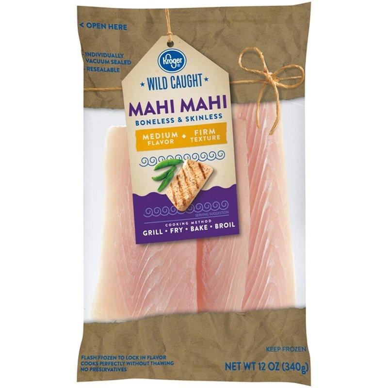 Kroger Mahi Mahi Wild Caught Filets