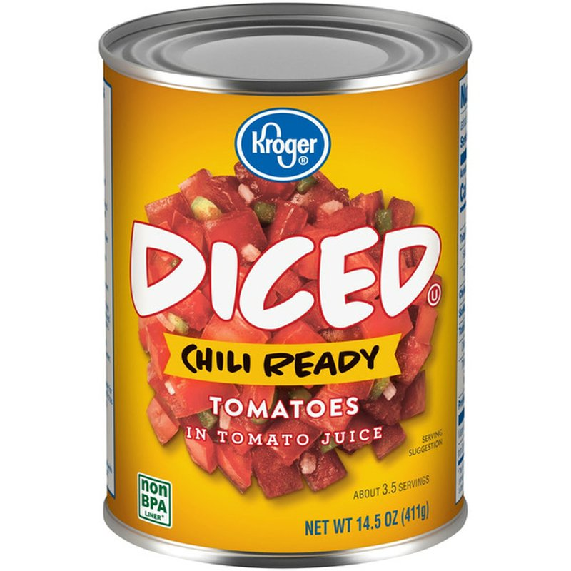 Kroger Diced Tomatoes With Chili Seasoning