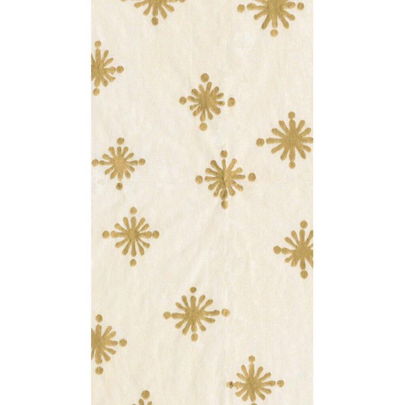 Caspari Ivory Starry Paper Guest Towel Napkins