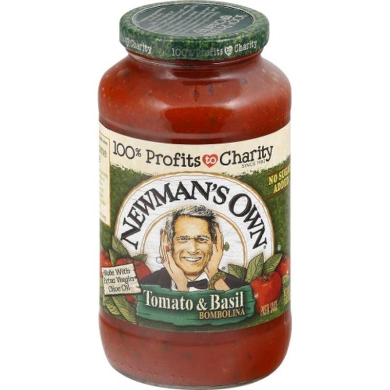 Newman's Own Pasta Sauce Tomato & Basil Bombolina