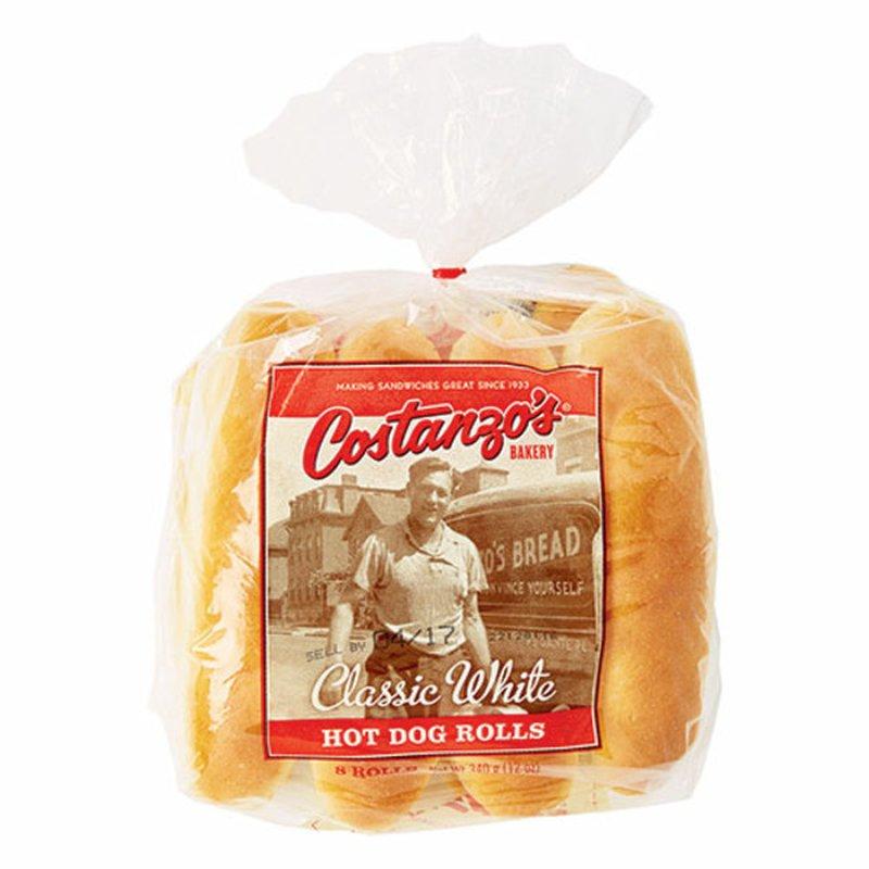 Costanzos Hot Dog Rolls
