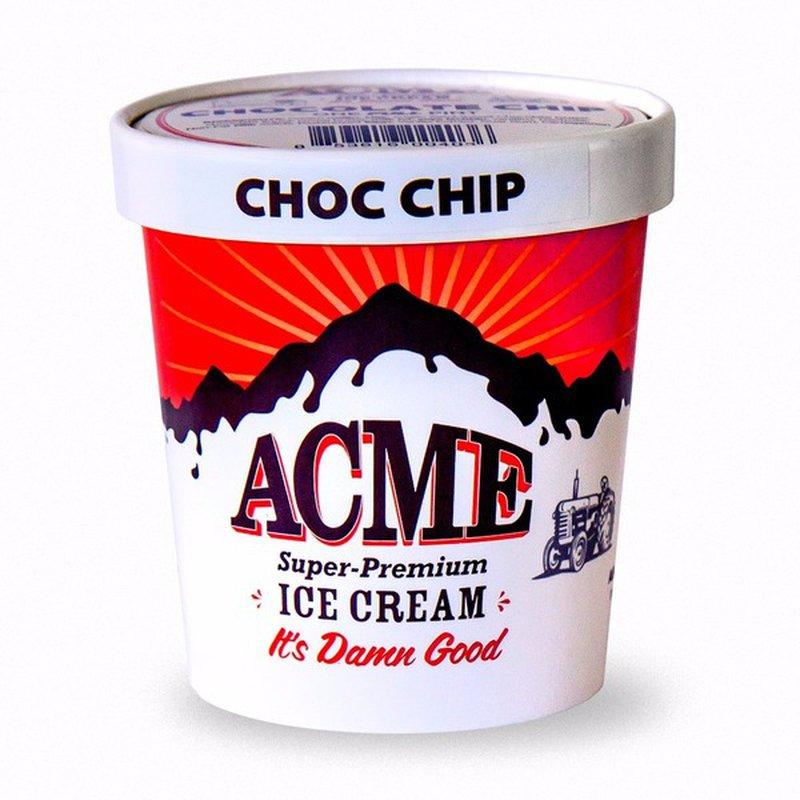 Acme Chocolate Chip Ice Cream