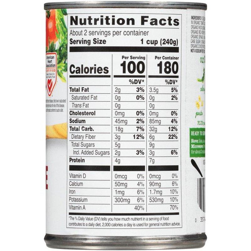 Health Valley Organic No Salt Added Minestrone Soup