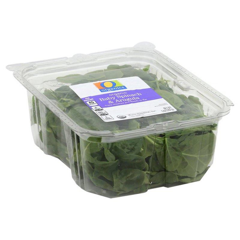 O Organics Baby Spinach & Arugula