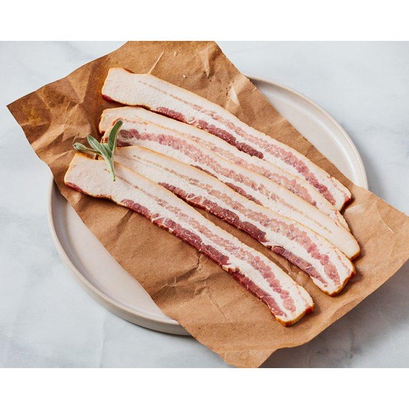 Garrett Valley Sugar Free Dry Rubbed Uncured Pork Bacon
