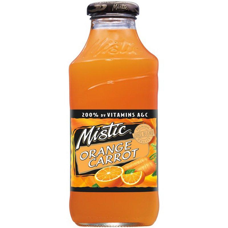 Mistic Orange Carrot Juice Drink (16 fl oz) - Instacart
