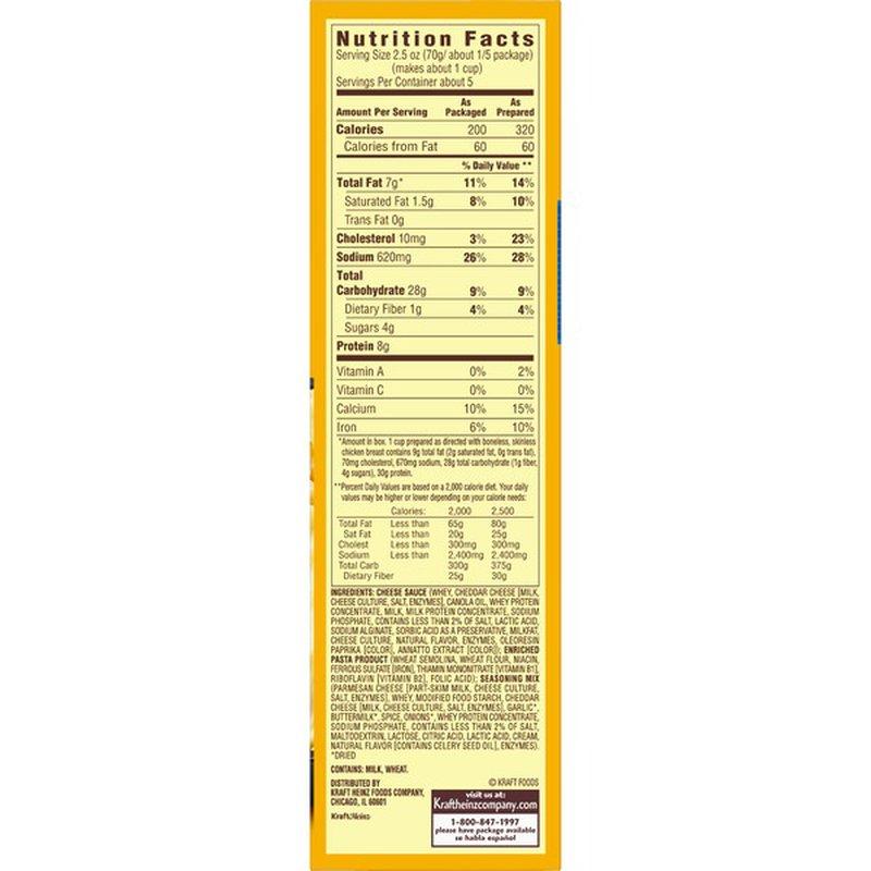 Kraft Velveeta Cheesy Skillets Chicken Alfredo Dinner Kit 12 5 Oz Instacart