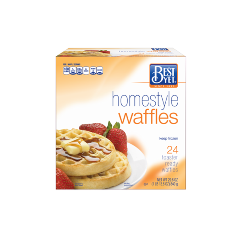 Best Yet Homestyle Waffles