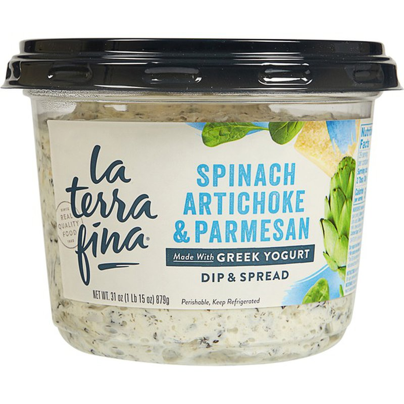 La Terra Fina Spinach Artichoke Parmesan Dip 31 Oz Instacart