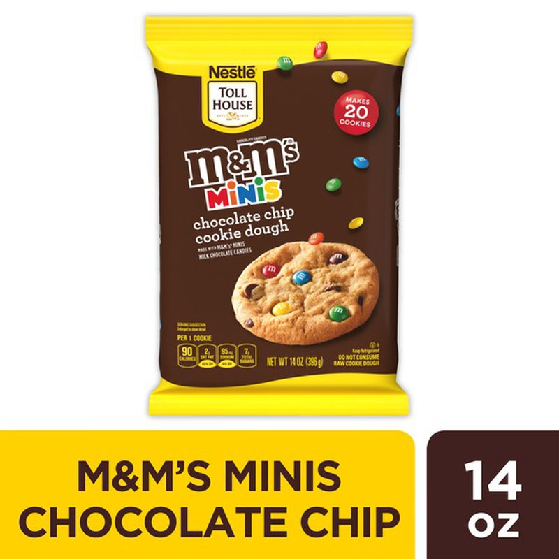 Toll House Nestle M M S Minis Cookie Dough 14 Oz Instacart