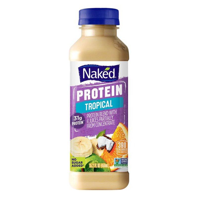 Naked Juice Smoothie, Protein, Banana Chocolate (15.2 fl