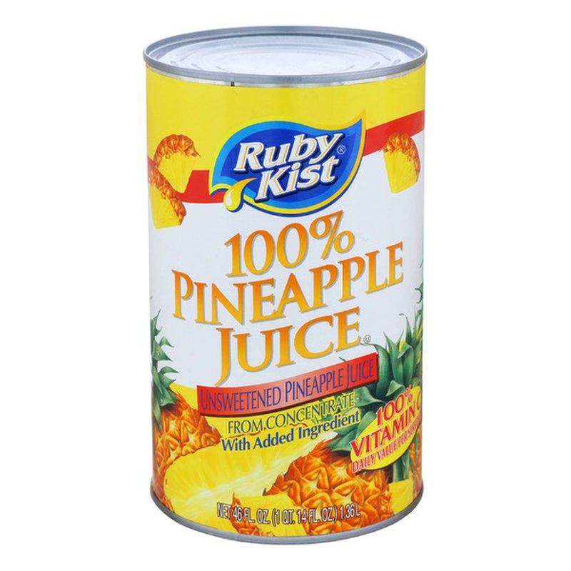 Ruby Kist 100% Pineapple Juice