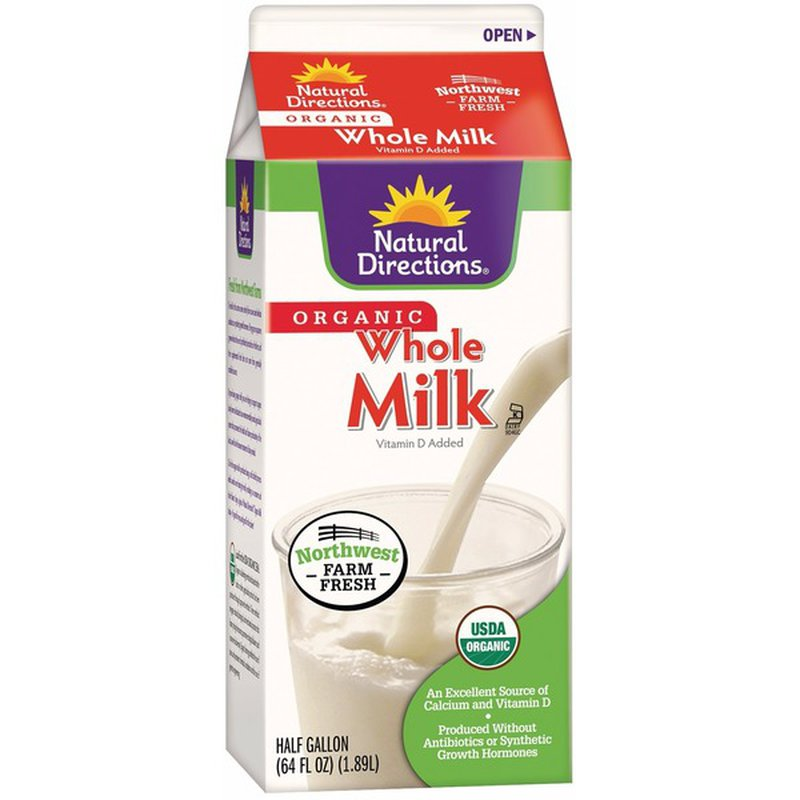 Natural Directions Organic Whole Milk