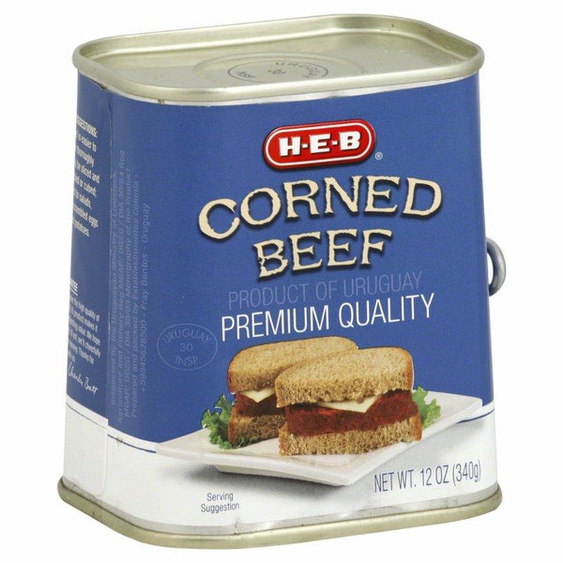 H-E-B Corned Beef