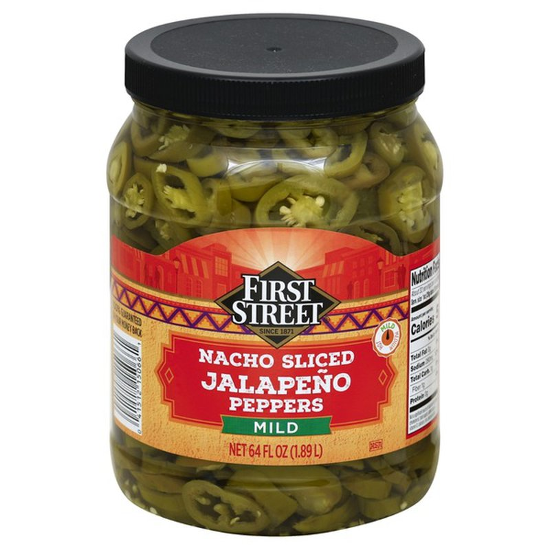 First Street Nacho Sliced Jalapeno Peppers