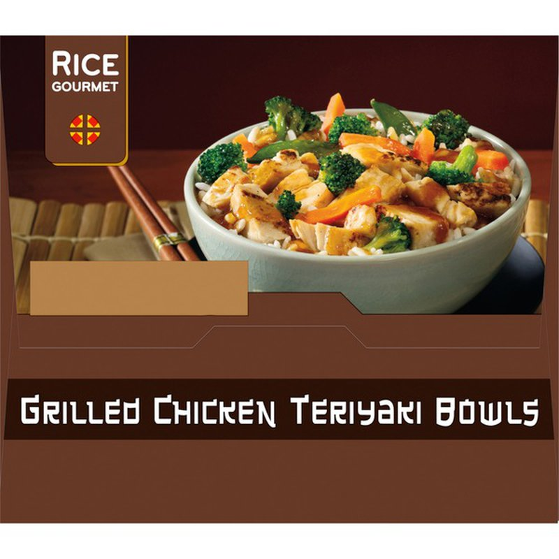 Rice Gourmet Chicken Teriyaki Bowls, 6 ct